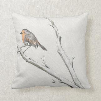 The Robin Throw Pillow