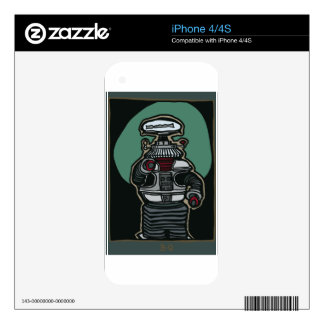 The Robot (B-9) iPhone 4 Skins