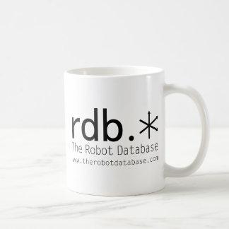 The Robot Database Coffee Mug