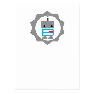 The Robot! Postcard