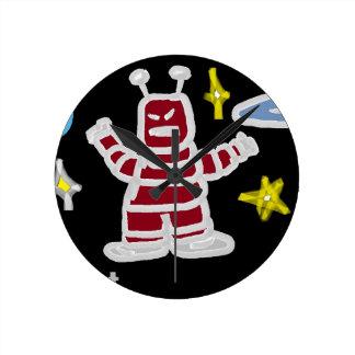 The Robot Round Clock