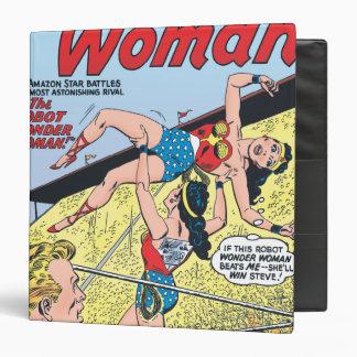 The Robot Wonder Woman 3 Ring Binder