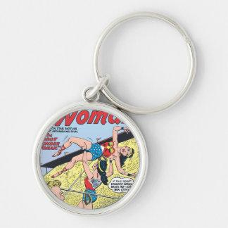 The Robot Wonder Woman Keychains