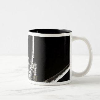 The robotic arm of the Japanese Experiment Modu 2 Two-Tone Coffee Mug