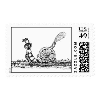The Robotic Snail Postage