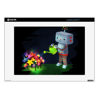 "The Robot's Garden Decal For 15"" Laptop"