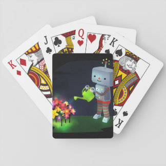 The Robot's Garden Playing Cards