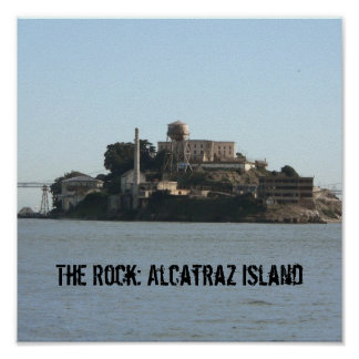 The Rock: Alcatraz Island Print