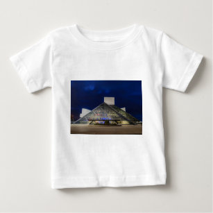 The Rock and Roll Hall of Fame at Dusk Baby T-Shirt