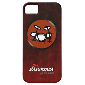 the rock band drummer iPhone SE/5/5s case
