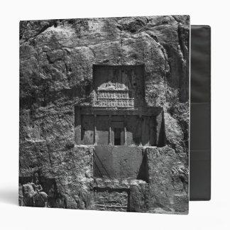 The rock-cut tomb of Artaxerxes I 3 Ring Binder
