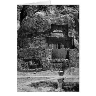 The rock-cut tomb of Artaxerxes I Card