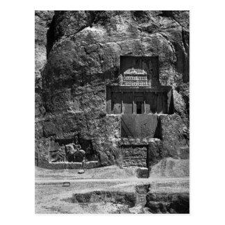 The rock-cut tomb of Artaxerxes I Postcard