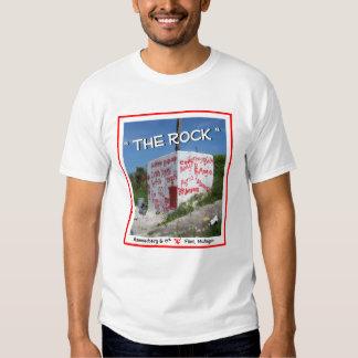 """The Rock"" Flint Michigan T-Shirt"
