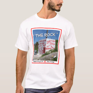 """The Rock"" Flint Michigan T-Shirt"