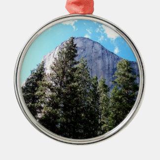 The Rock Metal Ornament