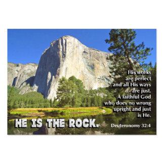 The Rock MINI Inspirational CARDS Business Card