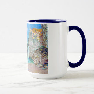 The Rock Needle and the Porte d'Aval Claude Monet Mug