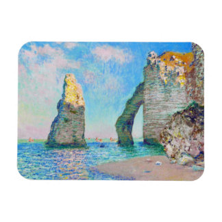 The Rock Needle and the Porte d'Aval Claude Monet Rectangular Photo Magnet