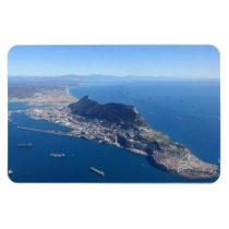 The Rock of Gibraltar fridge magnet