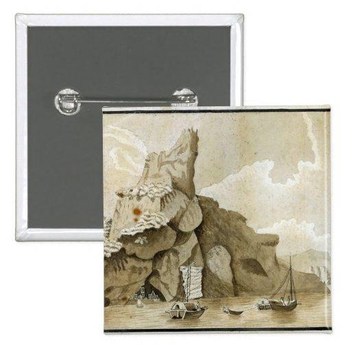 The Rock of Quang-Yin Button