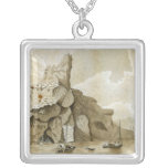 The Rock of Quang-Yin Square Pendant Necklace