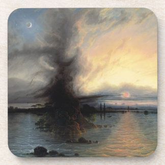 The Rock of Salvation, 1837 (oil on canvas) Coasters
