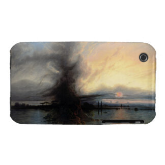 The Rock of Salvation, 1837 (oil on canvas) iPhone 3 Case