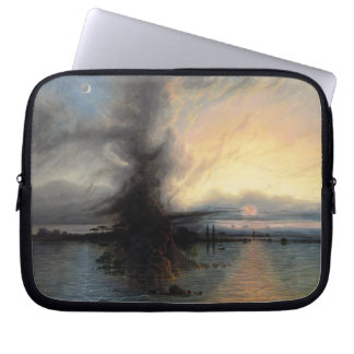 The Rock of Salvation, 1837 (oil on canvas) Laptop Computer Sleeve