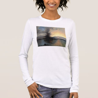 The Rock of Salvation, 1837 (oil on canvas) Long Sleeve T-Shirt