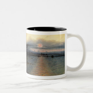 The Rock of Salvation, 1837 (oil on canvas) Two-Tone Coffee Mug