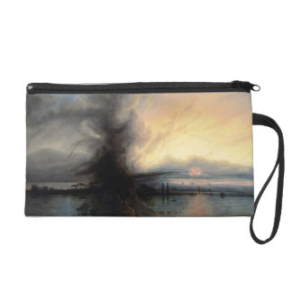 The Rock of Salvation, 1837 (oil on canvas) Wristlet Purse