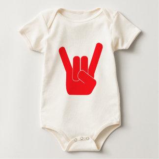 The Rock Sign Baby Bodysuit