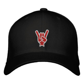 The Rock Sign Embroidered Baseball Hat