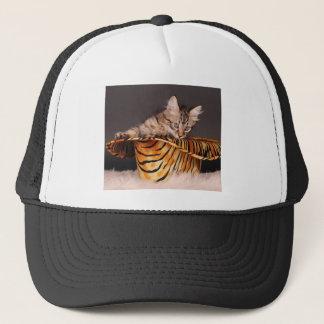The Rock Star Kitty Trucker Hat