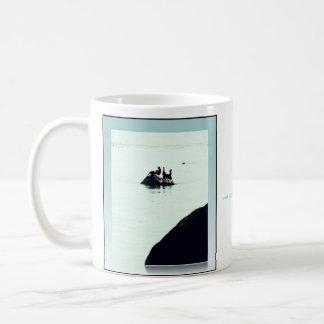 the rock & the cormorants mug