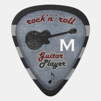 the rockandroll guitarist guitar pick