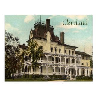 The Rockefeller Home Vintage Postcard