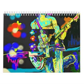 The Rocker on Stage Calendar