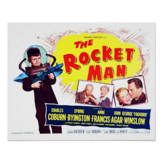 The Rocket Man Poster