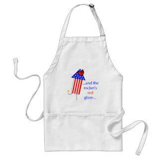 The Rockets Red Glare Adult Apron