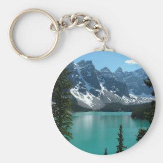 The Rockies - Moraine Lake Keychain