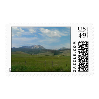 The Rockies Stamp