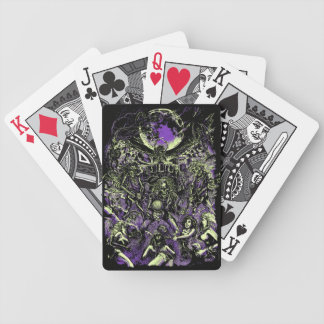 The Rockin' Dead Skeleton Zombies Bicycle Playing Cards