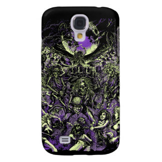 The Rockin' Dead Skeleton Zombies Samsung Galaxy S4 Cover