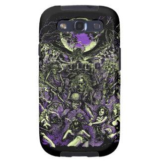 The Rockin' Dead Skeleton Zombies Samsung Galaxy SIII Case