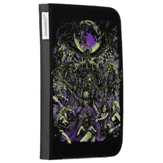 The Rockin' Dead Skeleton Zombies Kindle 3G Case