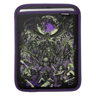 The Rockin' Dead Skeleton Zombies iPad Sleeves