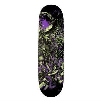 The Rockin' Dead Skeleton Zombies Custom Skateboard