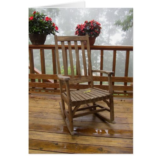 The Rocking Chair Greeting Card